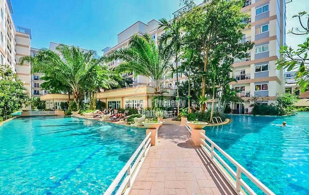 Condo for rent near Jomtien Beach 36 Sqm. - Condominium - Jomtien - Jomtien, Pattaya, Chonburi
