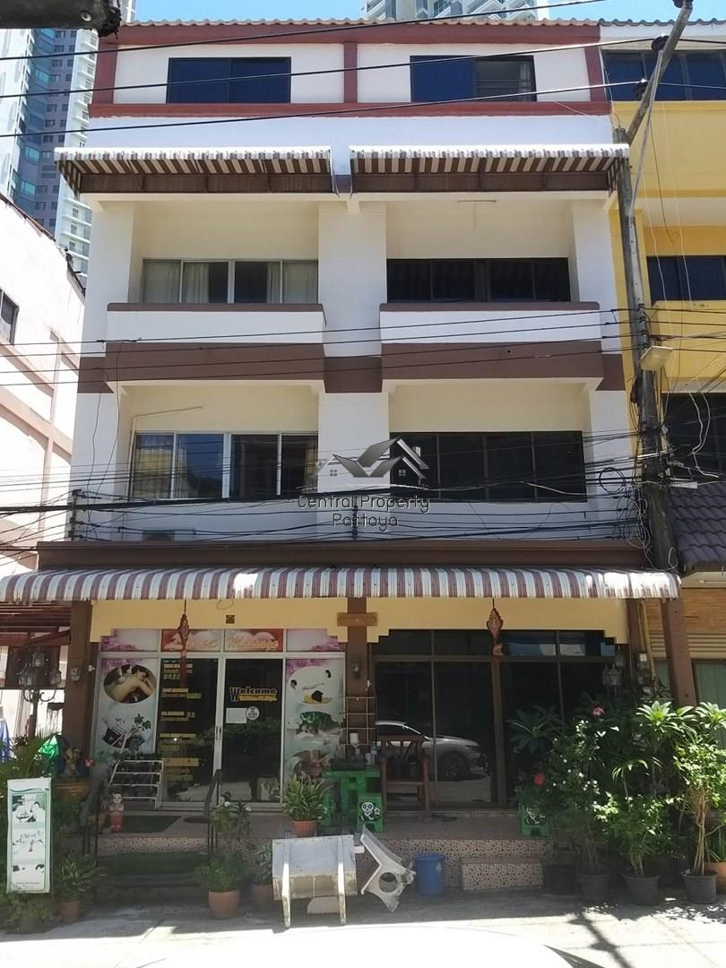 Two Four Storey Commercial Buildings for sale in Na Jomtien.ขายอาคารพาณิชย์ 4 ชั้น 2 คูหา นาจอมเทียน - House -  -