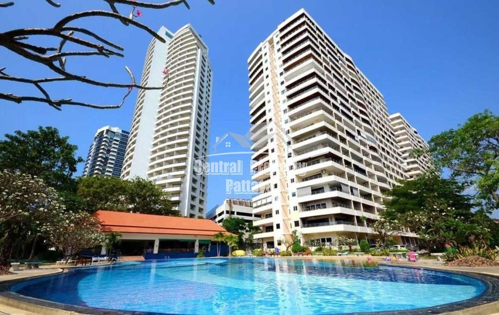 49 sqm Beachfront Studio for Rent in Pratumnak - Condominium - Pattaya -