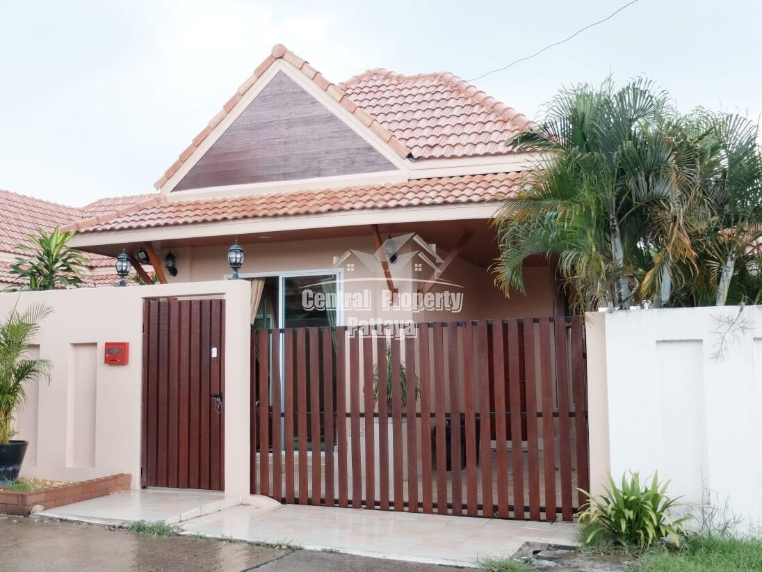 Three Bedroom Three Bathroom Pool Villa for Sale or Rent AD Village - House -  - East Pattaya, Chonburi