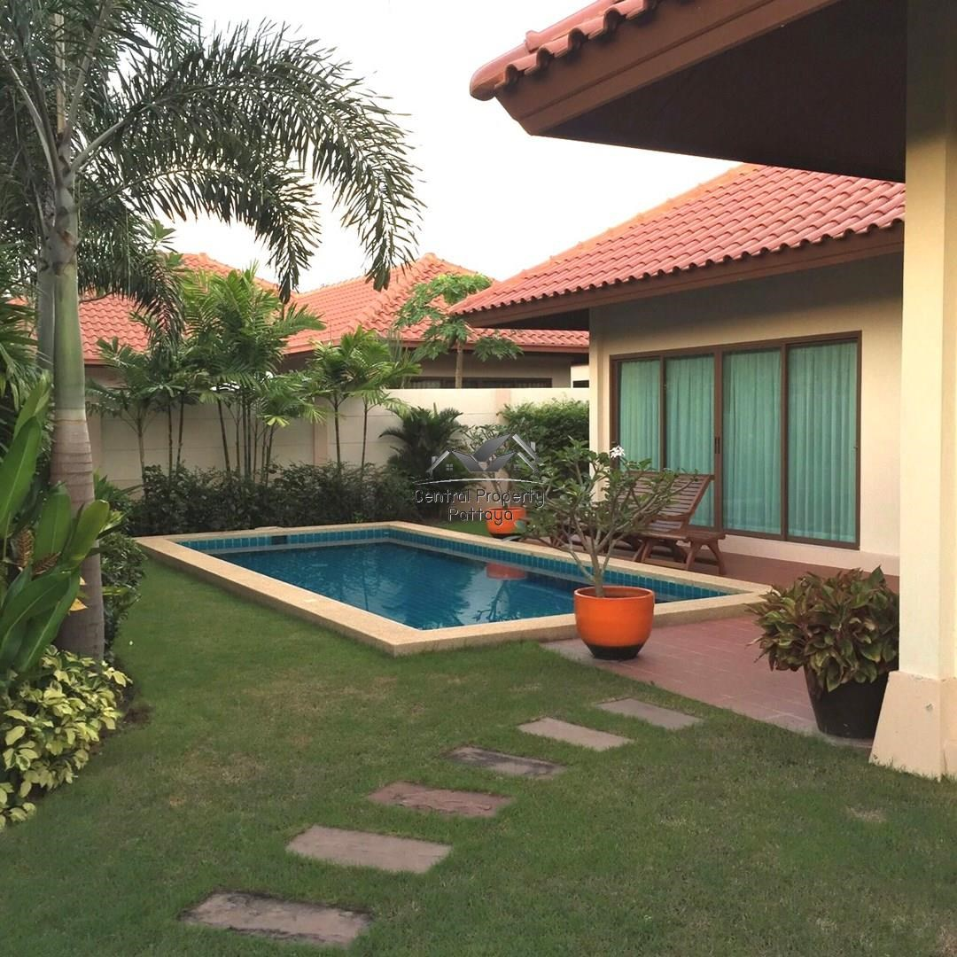 BAAN BALINA 3 Beautiful Two Bedroom House with Swimming Pool in Huay Yai For Sale. - House - Huai Yai - Huai Yai, Pattaya